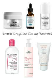 French Skin Care Products Drugstore Beauty French Pharmacie Favorites Online