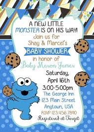 Cookie Monster Baby Shower Decorations Best 25 Monster Baby Showers Ideas On Pinterest Monster Party