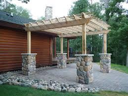 Flagstone Patio With Pergola Walkway Paver Stone Patio U2014 Home Ideas Collection To Remove