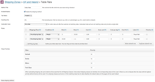 what is table rate shipping woocommerce table rate shipping 90 off discount