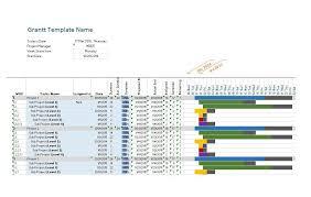 Free Gantt Chart Excel Template 36 Free Gantt Chart Templates Excel Powerpoint Word Template Lab