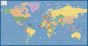 Creative Maps World Maps Digital U0026 Wall Creative Force Maps