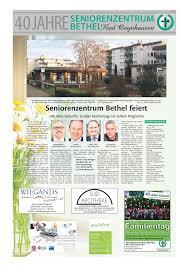 Bad Oeynhausen Klinik Presse Seniorenzentrum Bethel Bad Oeynhausen