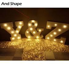 aliexpress com buy wooden a z alphabet letter led light bulbs