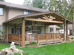 covered deck plans idea kimberly porch and garden awesome