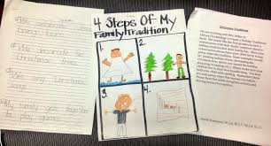 the library voice our first graders share their holiday family
