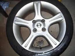 nissan sentra ser spec v 02 03 fs sentra ser spec v wheels and tires