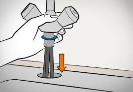 wasserhahn küche montieren küchenspülen einbauen in 10 schritten obi ratgeber