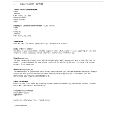how to write an open application letter for employment cover job