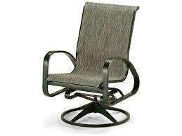 Swivel Rocker Patio Chair by Telescope Casual Primera Sling Aluminum Adjustable Swivel Rocker