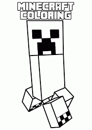 inspiring minecraft coloring pages 18 9958