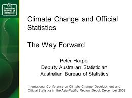 australian bureau climate change and official statistics the way forward