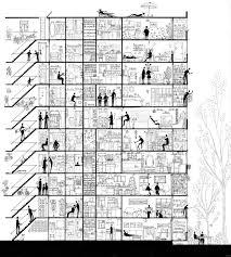 Apartment Building Floor Plans by Best 25 Building Section Ideas On Pinterest Architectural