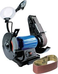 combination 2 in belt sander and 6 in grinder princess auto