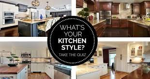 Kitchen Style Design What Is Your Kitchen Style Take The Quiz Find Out