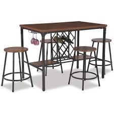 Napa Bistro Table Napa Dark Brown Pub Table U2013 Marlo Furniture