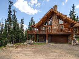 luxury colorado log cabin in breckenridge vrbo