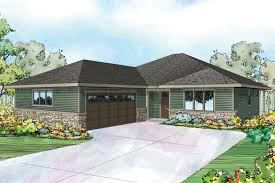 Ranch Style House Plans With Porch Prairie Style House Plans Denver 30 952 Associated Designs
