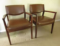 Modern Furniture Company by Pair Of 2 Alma Desk Company Wooden Chairs Midcentury Modern