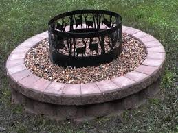 Firepit Ring Lasting Landscapes Yard Pinterest Ring Patios And