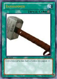Ban Hammer Meme - banhammer meme by no body11xd memedroid