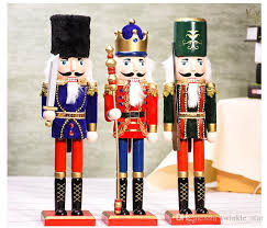 38cm nutcracker soldiers ornaments home decorations for