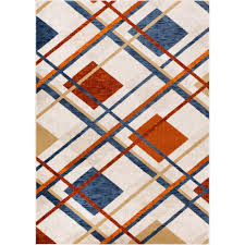 Plaid Area Rug Well Woven New Age Williamsburg Tartan Beige 3 Ft 11 In X 5 Ft