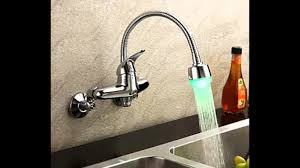 wall mount kitchen faucets with sprayer wall mount pull faucet
