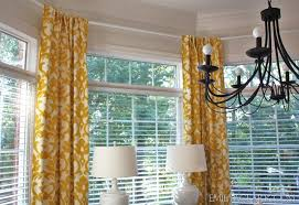 astonishing how to hang curtains in a bay window 33 in decoration