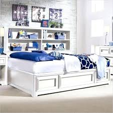 Bookcase Headboard California King Elegant Full Size White Storage Bed With Bookcase Headboard About