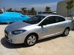 renault fluence 2018 better place electric renault fluence ze in israel 1st week