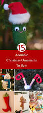 adorable christmas ornaments to sew