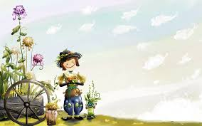 cute kids cartoon background hd wallpaper cute cartoon wallpaper