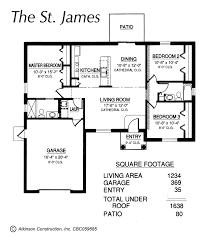 window in plan st james floor plan atkinson construction inc citrus marion