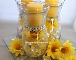 Daisy Centerpiece Ideas by Hurricane Vases Candle Daisy Centerpiece Hometalk