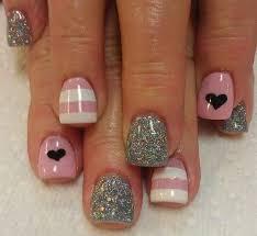 70 heart nail designs disney nails makeup and acrylic nail art