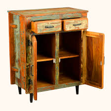 Reclaimed Wood Buffet Table by Storage Cabinet With Reclaimed Wood Best Home Design Ideas