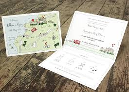 wedding invitations ni illustrated map wedding or party invitation by maps