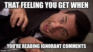Photo Comment Meme - stupid comments meme imgflip