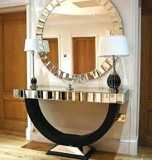 foyer table and mirror ideas entrance table with mirror regency mirrored console table vanity