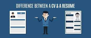 Difference Between Resume And Cv Cv Vs Resume The Differences Cv Vs Resume Vs Biodata Writing A