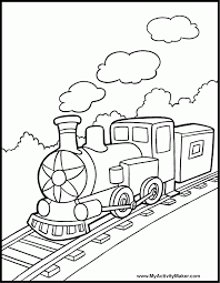 freight train coloring pages 455948