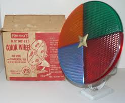 1950s mid century penetray motorized color wheel by krausehaus