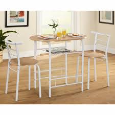 Breakfast Nook Furniture by 3 Piece Dining Set Breakfast Nook Chairs Table Compact Bistro Pub