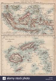 Fiji Islands Map East Indies U0026 Fiji Borneo Sumatra Java Celebes Malaya Philippines