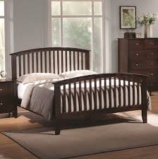 king size bed frame with headboard and footboard attachments