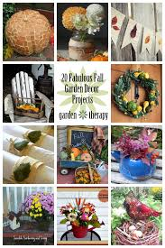 20 fabulous fall decor projects from the garden garden therapy