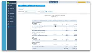 quickbooks reports for expenses and payments