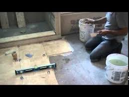 Installing Bathroom Floor - bathroom floor tile installation marble tile floor youtube