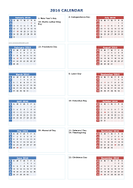 printable 2016 calendar one page calendar 2017 2018